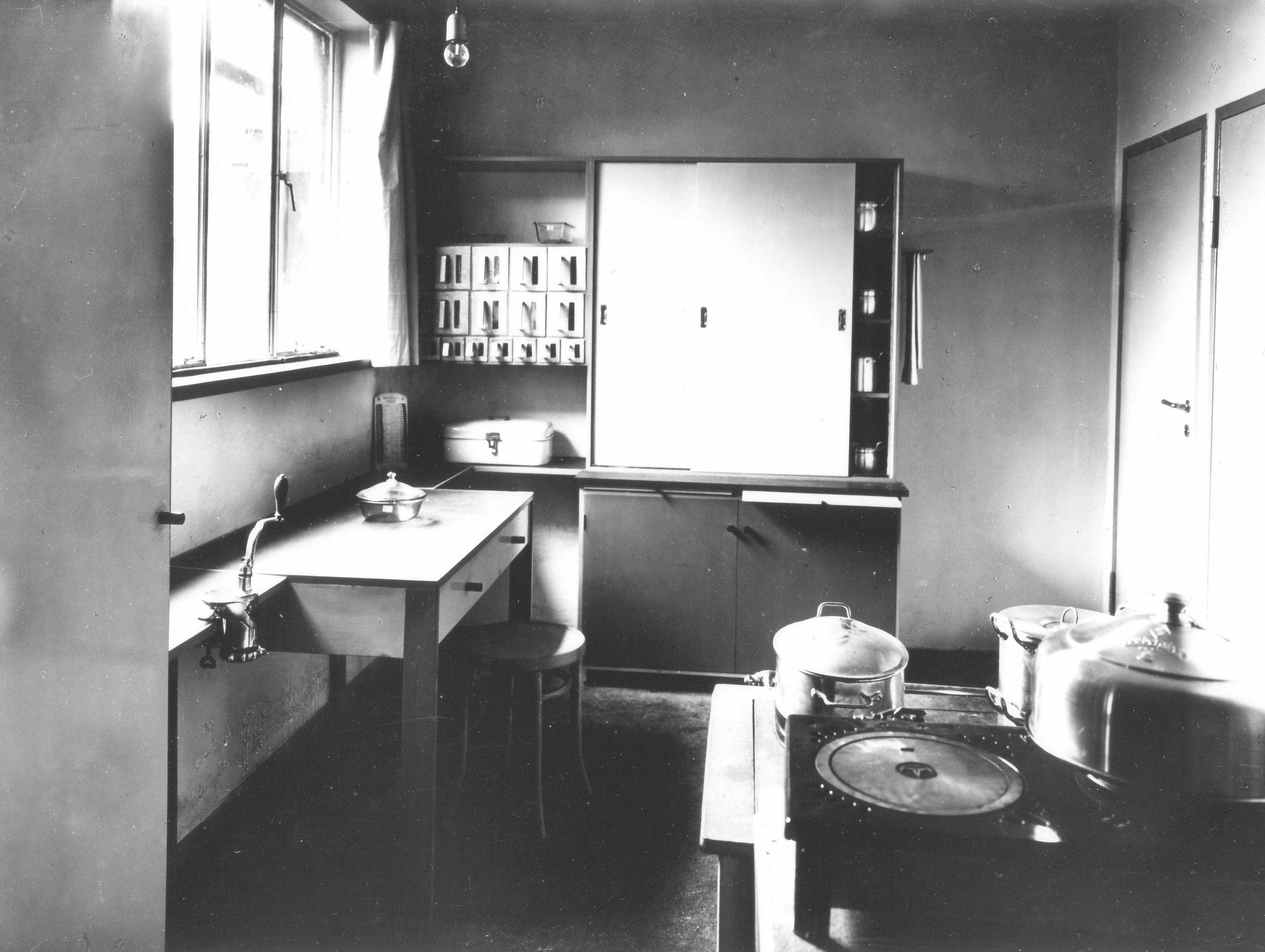 Küche Musterwohnung 1926