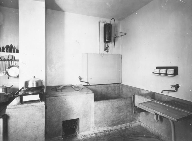 spülküche musterwohnung 1926   bauhaus, dessau